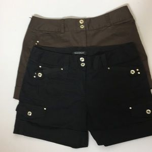White house black market two pack of shorts size 4